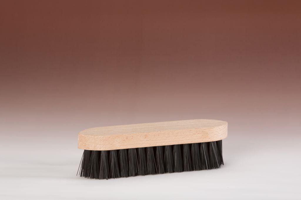 Werkborstel nylon zwart