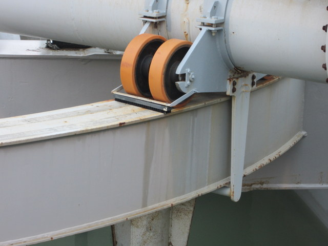 Borstel baggerschip op maat gemaakt