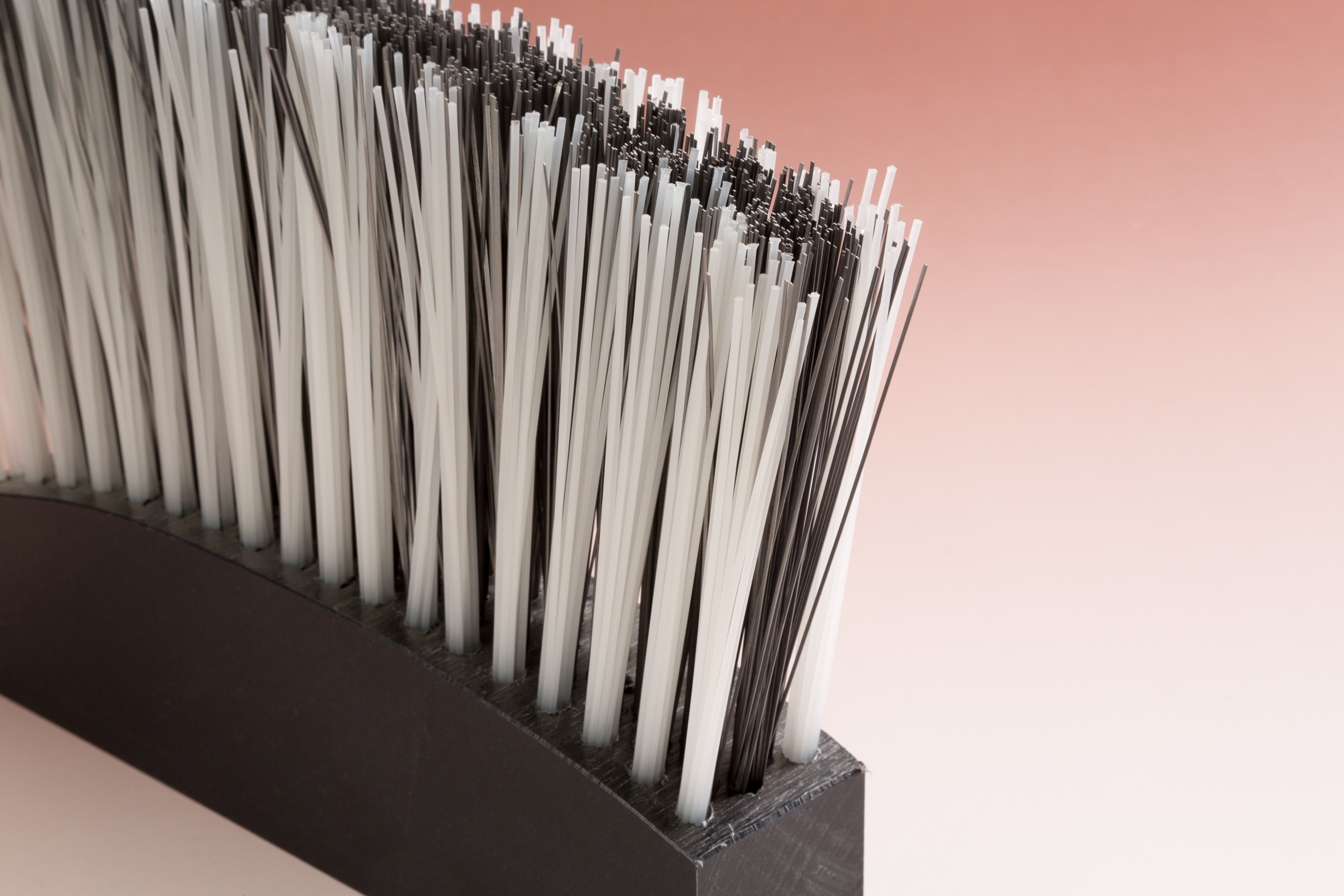 Borstellatten polyamide staal